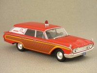 Ford Station Wagon Ambulance 1960 (Whitebox) 1/43e