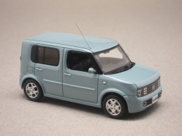 Nissan Cube 2002 bleue (Import Japon First:43)