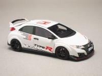 "Honda Civic Type-R ""5 European Tracks Front-Wheel Drive Record"" (TrueScale) 1/43e"