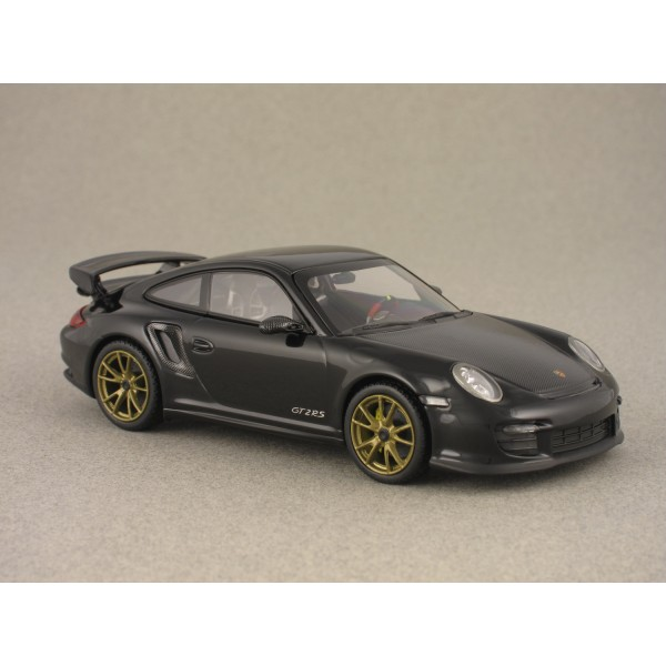 porsche 911 gt2 rs 997 black minichamps 1 43 minicarweb. Black Bedroom Furniture Sets. Home Design Ideas