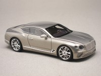 Bentley Continental GT 2018 Extreme Silver (LookSmart) 1:43