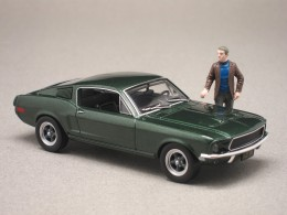 "Ford Mustang ""Bullitt"" (Greenlight) 1/43e"