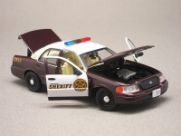 "Ford Crown Victoria ""Once upon a time"" (Greenlight) 1/43e"
