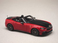 Abarth 124 Spider 2016 rouge Costa Brava (TrueScale) 1/43e