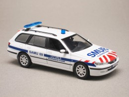 Peugeot 406 break SMUR (Norev) 1/43e