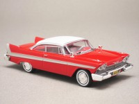 "Plymouth Fury 1958 ""Christine"" (Greenlight) 1/43e"