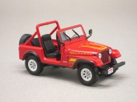 "Jeep CJ7 ""Terminator"" (Greenlight) 1/43e"