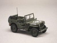 "Willys Jeep ""6 juin 1944"" ouverte (Oliex) 1/43e"