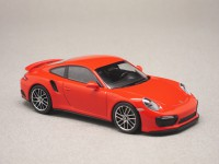 Porsche 911 Turbo S 2017 (Minichamps) 1/43e