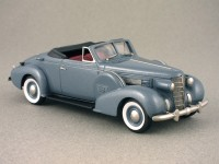 Oldsmobile L-37 coupé convertible 1937 par Brooklin