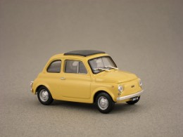 fiat 500 f jaune brumm 1 43e minicarweb. Black Bedroom Furniture Sets. Home Design Ideas