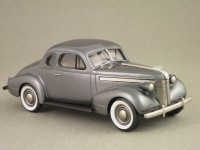 Pontiac Deluxe Six Coupé 1937 (Brooklin) 1/43e