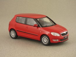 skoda fabia 2010 rouge abrex 1 43e minicarweb. Black Bedroom Furniture Sets. Home Design Ideas